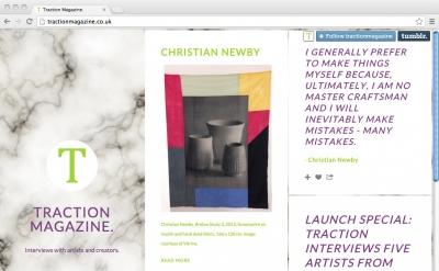 Traction Magazine art blog