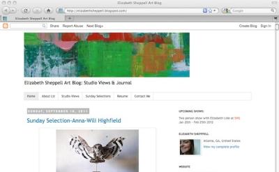 Elizabeth Sheppell art blog