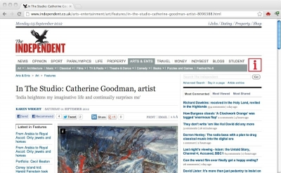 The Independent Arts Section
