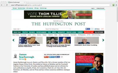 James Scarborough: Huffington Post