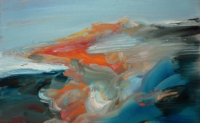 Joy Garnett, Red Head, 2007, oil on canvas, 15 x 20 inches, (courtesy of the art