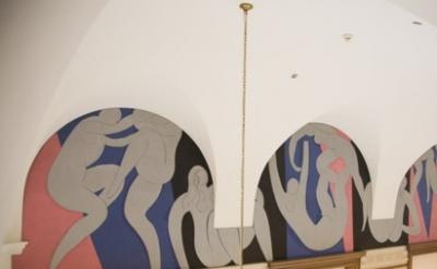 (detail) Henri Matisse, The Dance, 1932–1933, oil on canvas, The Barnes Foundati