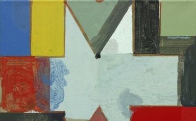 David Webb, Parcheesi (VT), 2012, acrylic on canvas, 38 x 45.5cm (courtesy of th