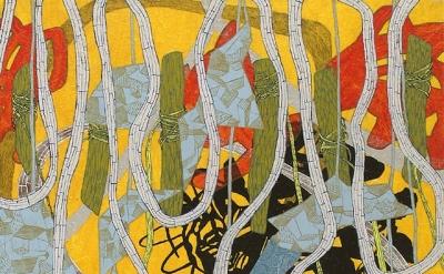 (detail) Laura Sharp Wilson, 1996, (2014) (courtesy McKenzie Fine Art)
