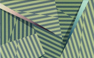 (detail) Tomma Abts, Fenke, 2014, acrylic and oil on canvas, 18 7/8 x 15 inches