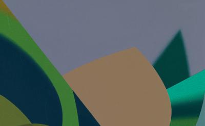 (detail) Tomma Abts, Groen\Welf, 2015, acrylic & oil on canvas 18 7/8 × 14 1/2 i