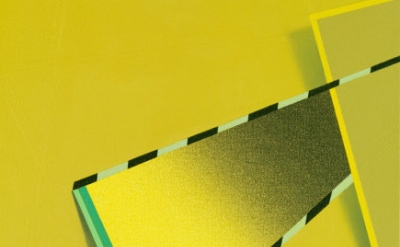 (detail) Tomma Abts, Feke, 2013, acrylic and oil on canvas, 18 7/8 x 15 inches (