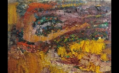 (detail) painting by Peter Acheson (courtesy of the artist, photo: Anne Russinof