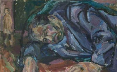 Albert Adams, Siegbert Eick, 1958, oil on canvas, 71 x 91 cm (© Albert Adams Est