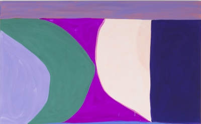 Marina Adams, Second Sun, 2016, acrylic on linen, 88 x 78 inches (courtesy of Salon 94)
