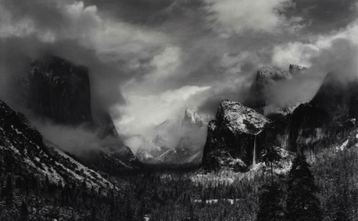 Ansel Adams, Clearing Winter Storm, Yosemite National Park, California, about 19
