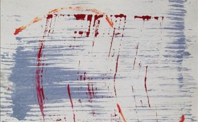James Adley, Carmine, 2007, acrylic on panel, 24 x 36 inches (courtesy of the ar