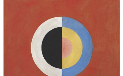 Hilma af Klint, Group IX/SUW, No. 17. The Swan, No. 17 (courtesy of Stiftelsen H