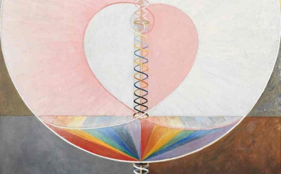 (detail) Hilma af Klint, The Dove, Noi (photograph: Albin Dahlström/Courtesy of