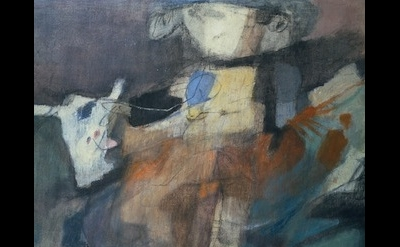 (detail) Afro, Ragazzo con il Toro, 1954 (courtesy of Haunch of Venison)
