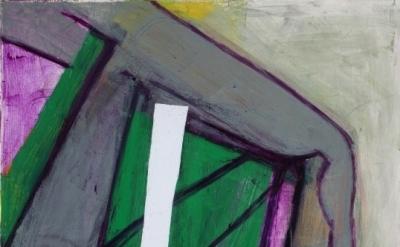 (detail) Amy Sillman painting (courtesy Capitain Petzel, Berlin, photo: Nick Ash