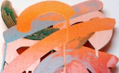 (detail) Ralph Anderson, Summer Toiler, 2014, acrylic on plywood, 40 x 30 cm (co