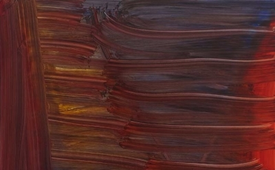 (detail) Andrea Belag, Stix & Stoned, 2012, 45 x 38 inches, oil on linen