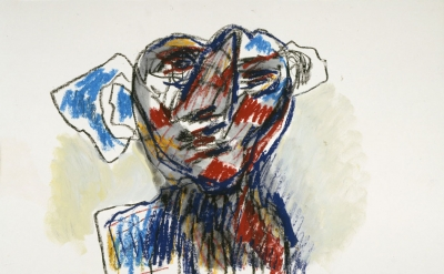 Karel Appel, Untitled, 2006 (courtesy of the Karel Appel Foundation / Adagp Pari