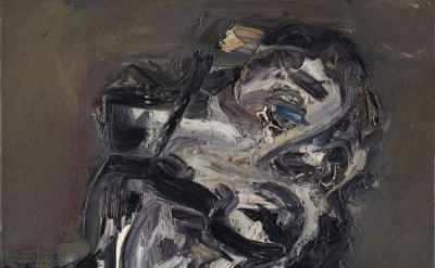 (detail) Frank Auerbach, Head of J.Y.M II, 1984-85 (Private collection, © Frank