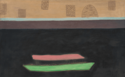 Milton Avery, Excursion on the Thames, 1953 (courtesy of Victoria Miro Gallery)