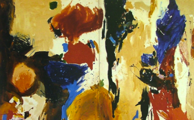 (detail) Gillian Ayres, Cumuli, 1959 (courtesy of the artist and Alan Cristea Ga