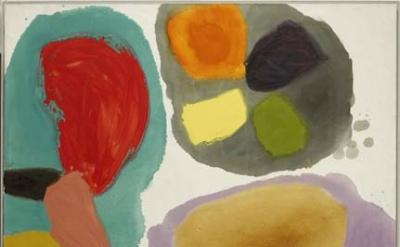 Gillian Ayres, Lure, 1963 (Arts Council Collection, Southbank Centre, London © the artist)
