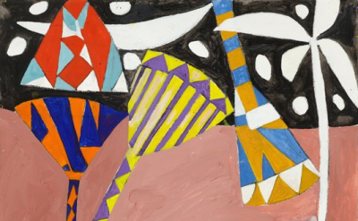 Gillian Ayres, Shalimar 3, 2011 (courtesy of the artist and Alan Cristea Gallery