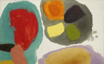 Gillian Ayres, Lure, 1963 (Arts Council Collection, Southbank Centre, London © the artist)