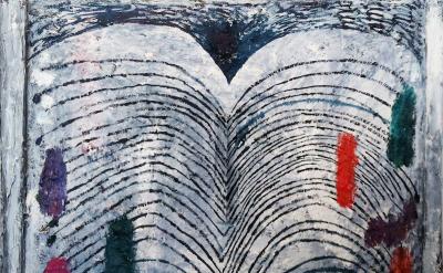 Yevgeniya Baras, Untitled, 2014, oil on canvas, 16 x 20 inches (courtesy of Stev