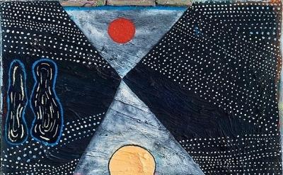 Painting by Yevgeniya Baras (courtesy of the artist)