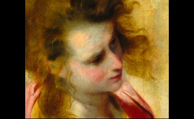 (detail) Federico Barocci, Head study for Saint John the Evangelist © Image cour