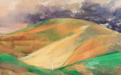 Donald Beal, Dune, 32 x 42 inches, oil on panel, 2015 (courtesy of the artist)