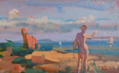(detail) Rosemarie Beck, Ariel, 1978