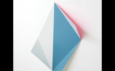 (detail) Rana Begum, No.441 – Fold (2013), 55 x 72 x 22 cm (courtesy of the arti