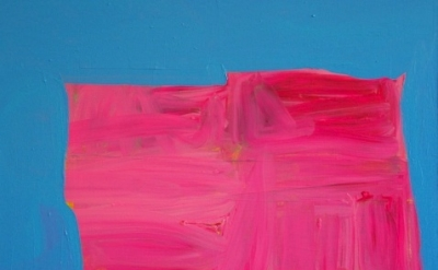 (detail) Paul Behnke, Vandervoort Place, 2012, acrylic on canvas, 36 x 38 inches