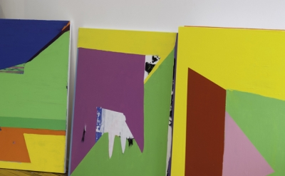 Paul Behnke: Studio view