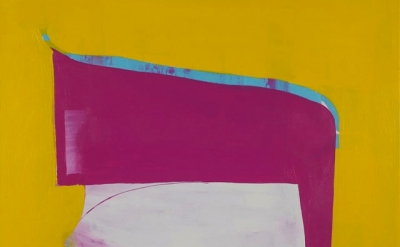 (detail) Paul Behnke, A Kind of Grail, 2012, acrylic on canvas, 48 x 50 inches (