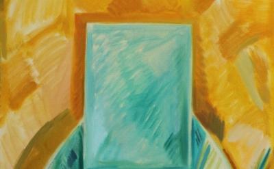 (detail) Kiera Bennett, The Painter, 2013, oil on canvas, 90 x 75 cm (courtesy o