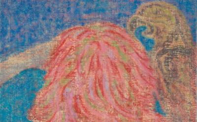 (detail) Michael Berryhill, Long Long, Gone Gone, 2014, oil on linen, 30 x 24 in