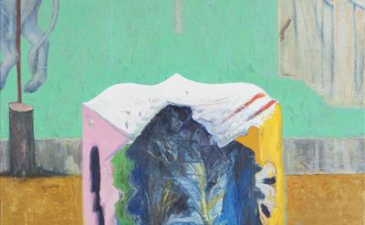 (detail) Michael Berryhill, Greenbroke, 2010-2011, oil on canavas, 37 1/5 x 33 i
