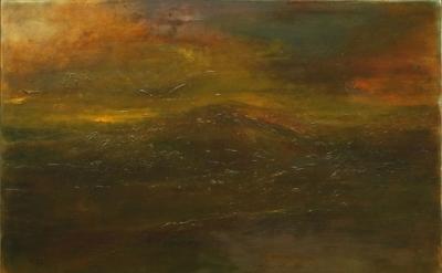 Jake Berthot, Shawangunk, 2010–2011, oil on linen (courtesy Betty Cuningham Gall