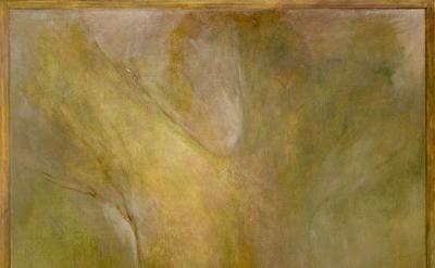 (detail) Jake Berthot, Ashton's Tree, 2010, oil on linen (courtesy of Betty Cuni