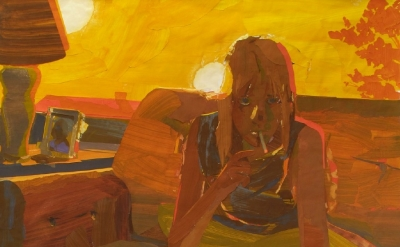 (detail) Matt Bollinger, Guest (Provo), 2012 (courtesy of Galerie Zürcher Studio