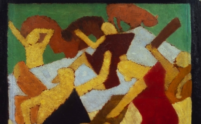 David Bomberg, Bathing Scene, c.1912‑13 (© Tate Gallery)