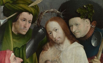 (detail) Hieronymus Bosch, Christ Mocked (The Crowning with Thorns), c. 1510 (Na