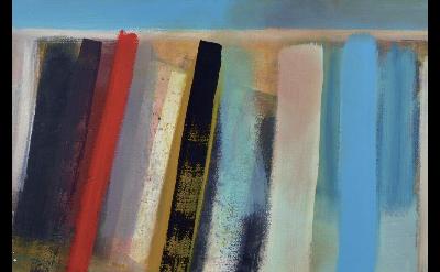 (detail) Wilhelmina Barns-Graham, Scorpio Series, No. 13, 1995 (courtesy of Art