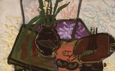 Georges Braque, Still Life with Palette, 1943 (image courtesy of the Kemper Art