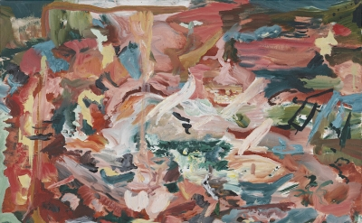 Cecily Brown painting (courtesy of Maccarone)