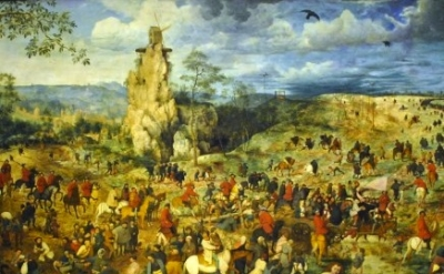 Pieter Bruegel the Elder, The Way to Calvary, Kunsthistorisches Museum Burgring,